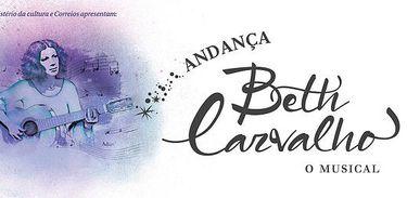 ANDANÇA – Beth Carvalho, o musical, banner promocional