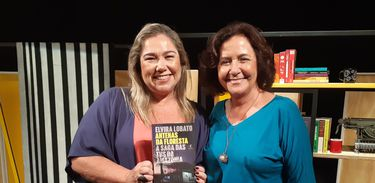 Katy Navarro entrevista a jornalista e escritora Elvira Lobato no Trilha de Letras