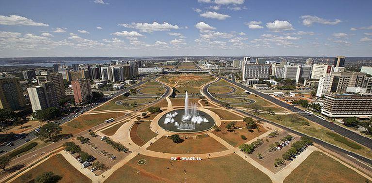 Vista aérea de Brasília, Brasília