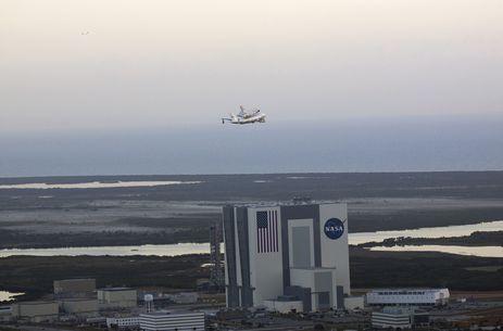 Centro Espacial Kennedy da Nasa na Flórida