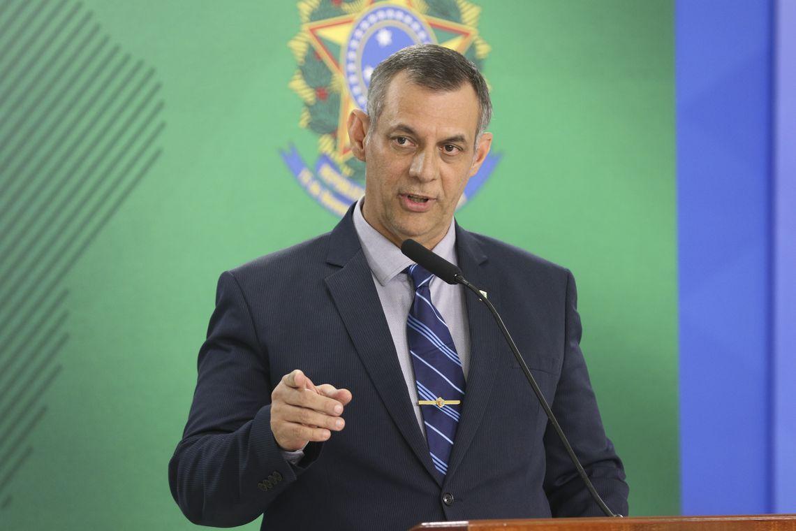 Briefing do porta-voz da Presidência; Otávio do Rêgo Barros