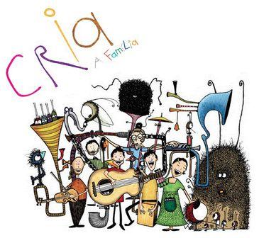 Capa do CD do grupo Cria