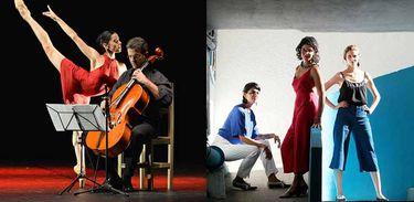Duo Cello e Movimento e Trio Capitu