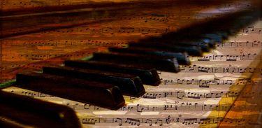 Piano - Notas musicais