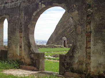 Ruínas do Forte de São Luis(Forte do Pico)