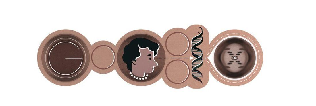Google faz homenagem a Rosalind Franklin