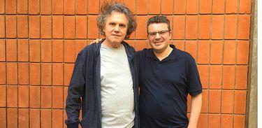 Arrigo Barnabé e Emmanuele Baldini
