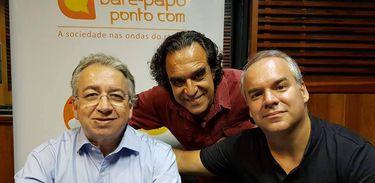 Gilberto Braga, Jorge Ramos e Cadu Freitas