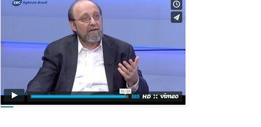 O neurocientista Miguel Nicolelis, em entrevista ao programa Espaço Público da TV Brasil