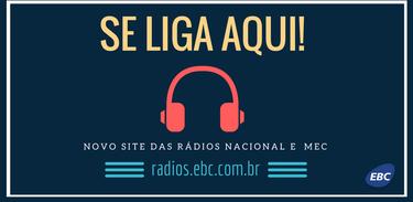 Novo site de Rádios
