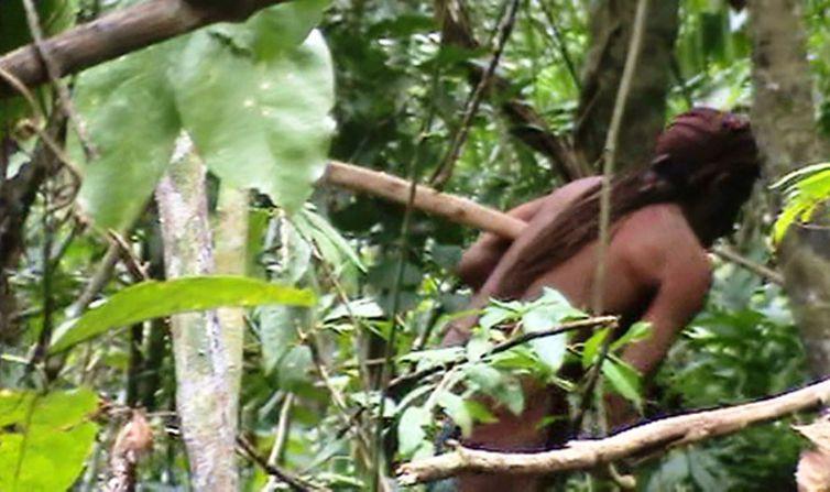Índio Isolado da TI Tanaru - O sobrevivente que a Funai acompanha há 22 anos