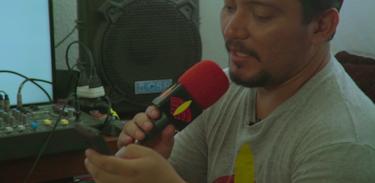 Série Índio Presente visita a Rádio Yandê