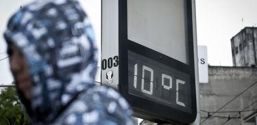 Temperaturas chegam a 8,5ºC em Brasília