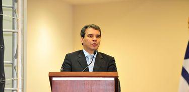 Novo ministro da Justiça, Wellington César Lima,