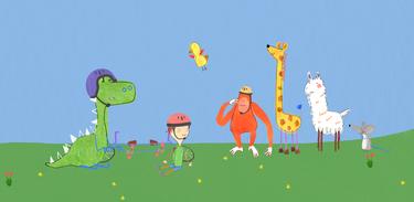 Pablo e seus amigos se divertem juntos em mais uma aventura