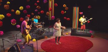 Casa de Curió se apresenta no Música Animada