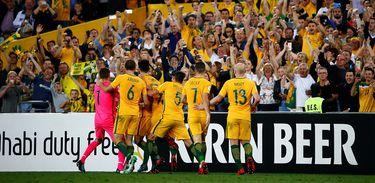 Seleção australiana derrotou Honduras por 3x1 em Sydnei e garantiu sua quinta presenças em Copas.