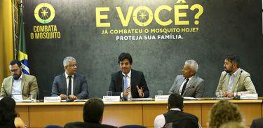 Lançamento da campanha pelo ministro da Saúde, Luiz Henrique Mandetta