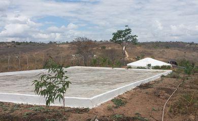 Cisterna construída na região do semiárido, na Paraíba - Foto Camila Bohem/Agência Brasil