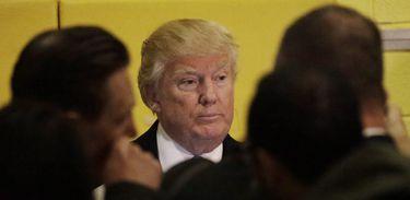 O candidato republicano Donald Trump votou em escola pública de Nova York