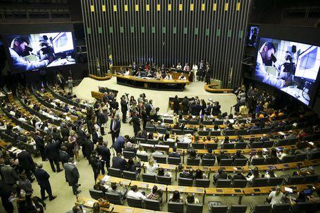 Michelle Bolsonaro participa de sessão solene no Congresso Nacional