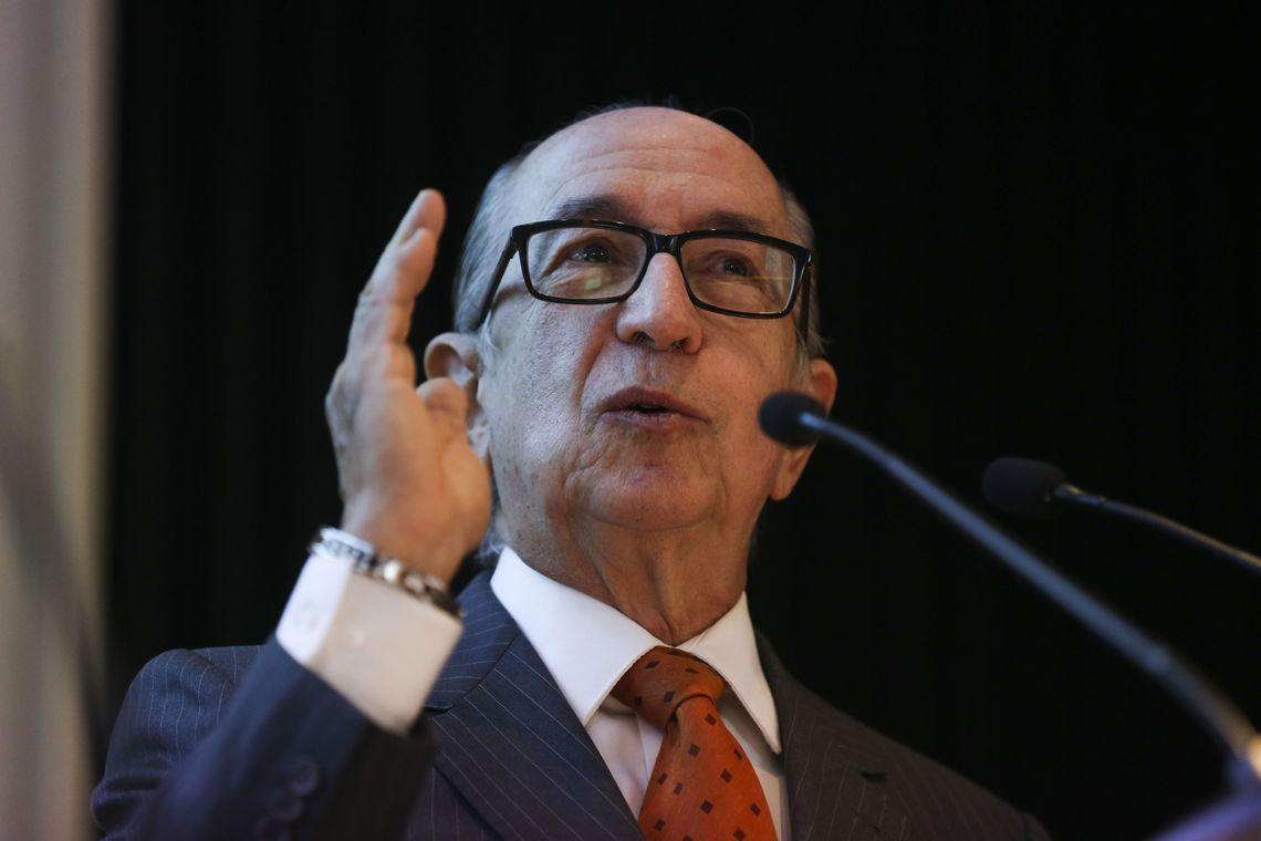 O secretário especial da Receita Federal, Marcos Cintra, participa do seminário, O padrão OCDE de preços de transferência e a abordagem brasileira: o caminho à frente.
