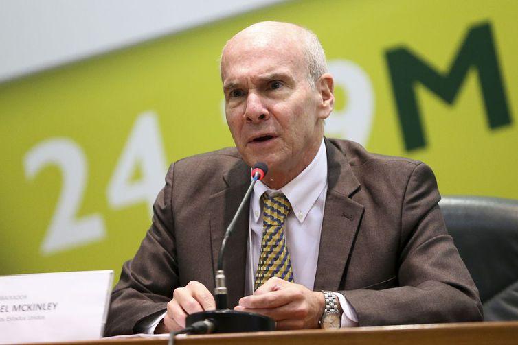 Brasília - O embaixador dos Estados Unidos da América, Michael Mckinley,