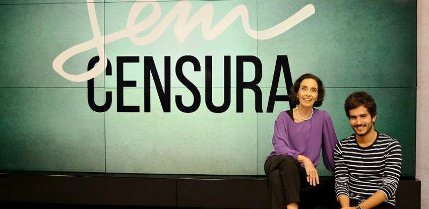 Vera Barroso e Bruno Barros apresentam o Sem Censura