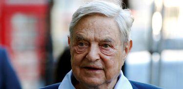 Bilionário George Soros/Bomba  REUTERS/Luke MacGregor