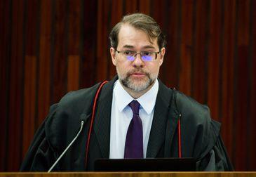 Brasília - O ministro Dias Toffoli, atual presidente do TSE, será substituído em maio pelo também ministro do STF Gilmar Mendes