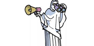 Ilustração de Laerte para o Observatório da Intervenção