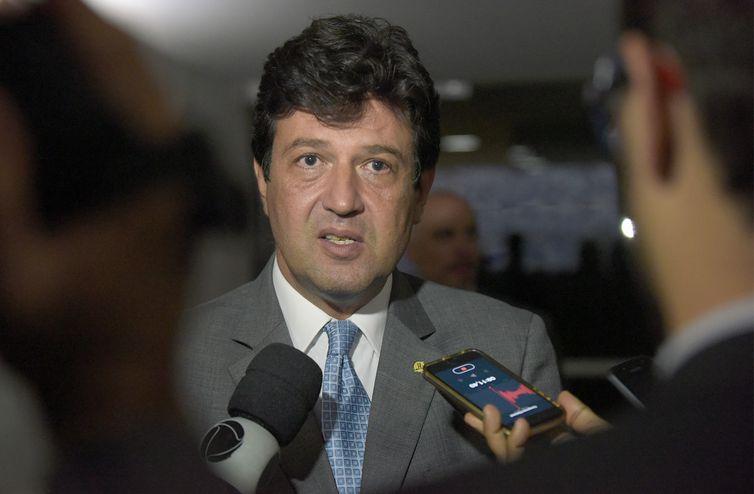O futuro ministro da Saúde, Luiz Henrique Mandetta