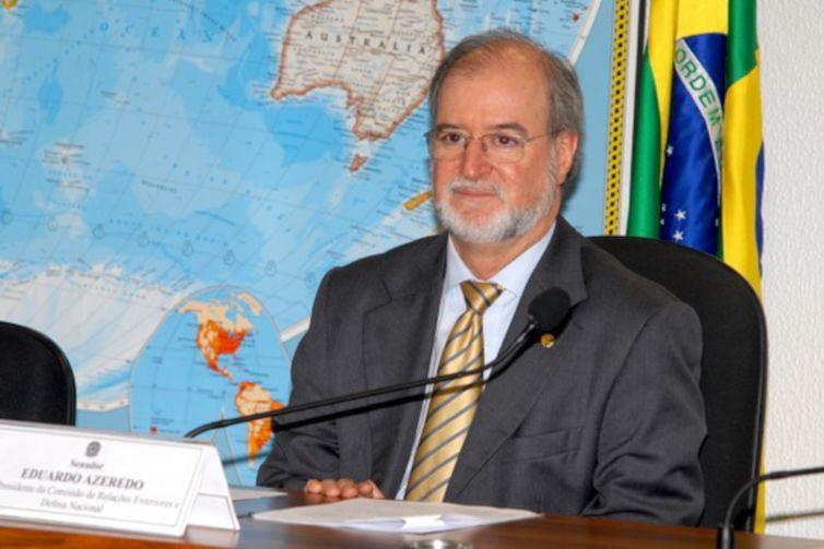 Ex-governador de Minas Gerais Eduardo Azeredo