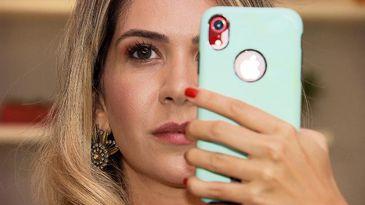"""""""Não sei se vivo pra postar ou posto pra viver"""", indaga a empresária Adriana Naccarato"""