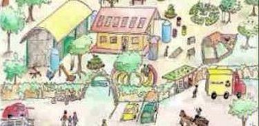 Capa do DVD de Juliano Riciardi sobre permacultura na escola e educação sustentável
