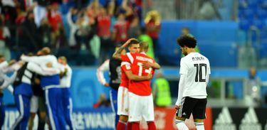 Comentários e análises do jogo Rússia x Egito