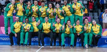 eleção Brasileira de basquete feminino conquista o ouro nos Jogos Pan-Americanos de Lima 2019