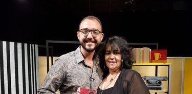Raphael Montes e Raquel de Oliveira
