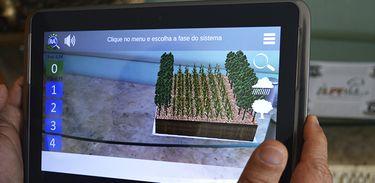 Aplicativo apresenta em 3D todas as fases do sistema