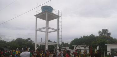 Sesai inaugura sistema de abastecimento de água nas comunidades indígenas Crajari Ie II