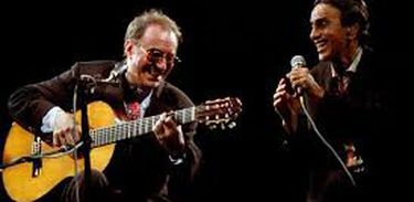 João Gilberto e Caetano Veloso