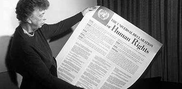 Eleanor Roosevelt e a Declaração Universal dos DIreitos Humanos