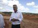 Brasília - O governador Rodrigo Rollemberg visita o novo aterro sanitário da capital federal, em Samambaia (Valter Campanato/Agência Brasil)