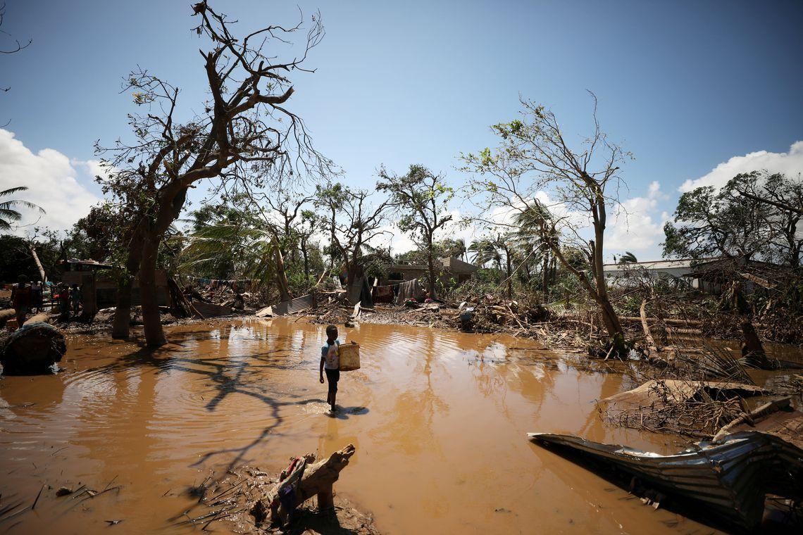Moçambique, Ciclone, África .