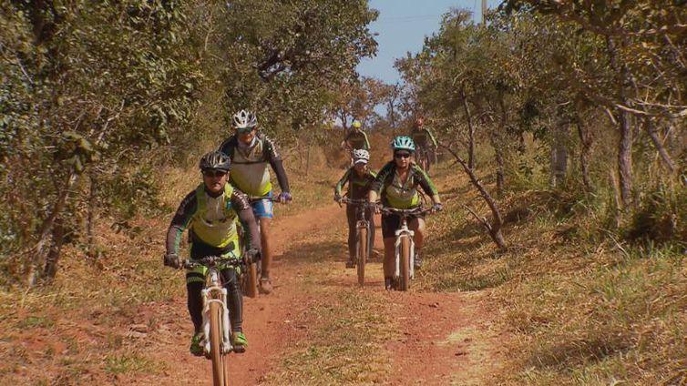 Grupo Rebas do Cerrado reúne apaixonados por bicicleta todos os domingos