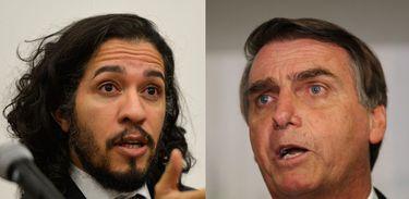 Deputados federais Jean Wyllys e Jair Bolsonaro (Arquivo/Agência Brasil)