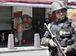 Rio de Janeiro - Operação feita pelas polícias Civil e Militar, com o apoio das Forças Armadas, da Força Nacional de Segurança e da Polícia Federal, no Morro dos Macacos, em Vila Isabel, zona norte do Rio (Foto: