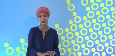 A jornalista Zahra Rasool dá seu depoimento no programa Singulares