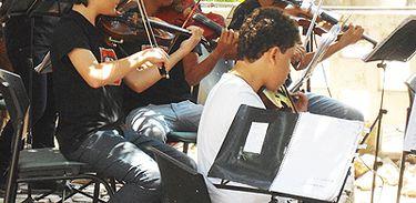 Orquestra Jovem Paquetá no Partituras