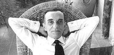 João Cabral de Melo Neto  em momento de descontração